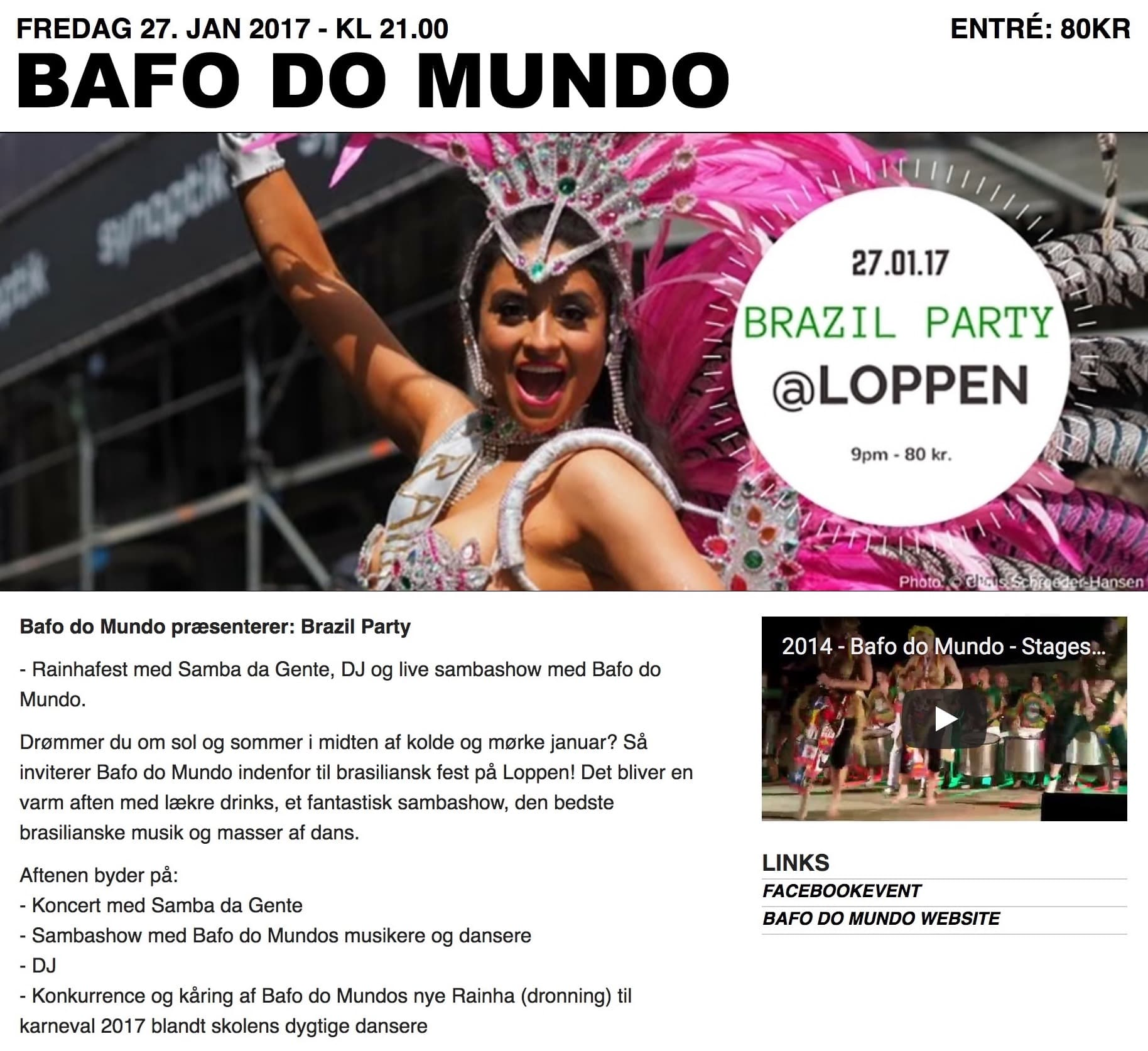 Bafo do Mundo holder fest!